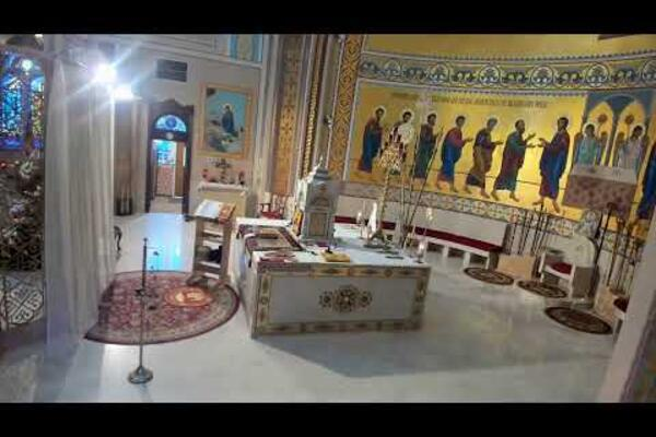 Live stream of the morning and evening prayers